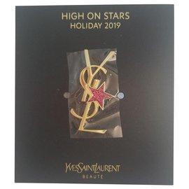 Yves Saint Laurent-Brooch-Golden