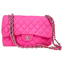 Chanel-BAG CHANEL TIMELESS CLASSIC LARGE MODEL-Fuschia