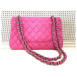 Chanel-SAC CHANEL TIMELESS CLASSIQUE GRAND MODELE-Fuschia