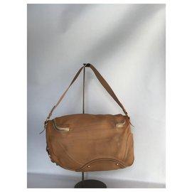 Céline-Celine Shoulder  Bag-Caramel