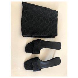 Gucci-Sandals-Dark brown
