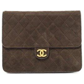 Chanel-Sac Classique Chanel-Marron