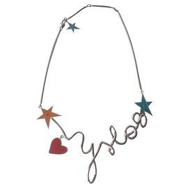 Yves Saint Laurent-Necklaces-Silvery,Multiple colors