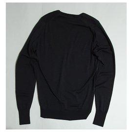 John Smedley-Sweaters-Dark grey
