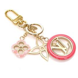 Louis Vuitton-Louis Vuitton Multi Colorline Bag Charm and Key Holder-Multiple colors,Golden