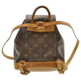 Louis Vuitton-Louis Vuitton Montsouris PM-Brown