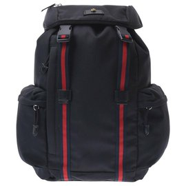 Gucci-Gucci Nylon backpack-Black
