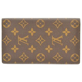 Louis Vuitton-LOUIS VUITTON Brazza Wallet-Brown