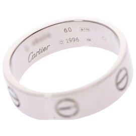 Cartier-Bague d'amour Cartier #60-Argenté