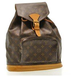 Louis Vuitton-Louis Vuitton Montsouris GM-Brown