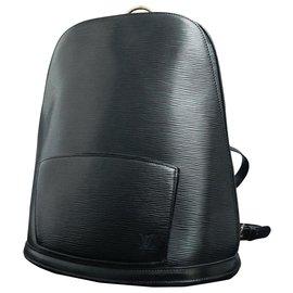 Louis Vuitton-Louis Vuitton Gobelins-Black