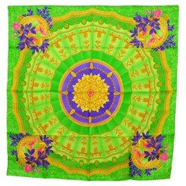 Céline-Céline Ethnic scarf-Green