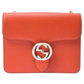Gucci-Gucci interlocking-Orange