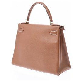 Hermès-hermes kelly 28-Marron