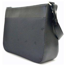 Burberry-Burberry Nylon Leather One-Black