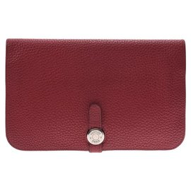 Hermès-Hermès Dogon GM-Red