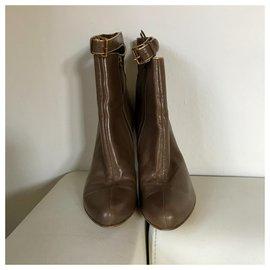 Miu Miu-Miu Miu ankle boots-Brown