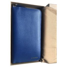 Burberry-Wallets-Blue
