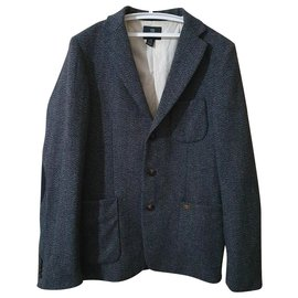 Scotch and Soda-Blazers Jackets-Multiple colors,Dark grey