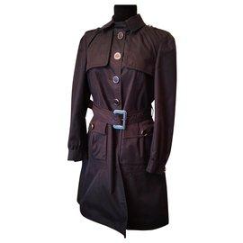 Gucci-Trench-coat Gucci-Noir