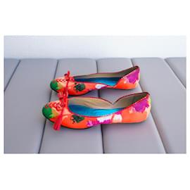 Balenciaga-Ballet flats-Multiple colors