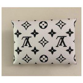 Louis Vuitton-Purses, wallets, cases-Black,White,Multiple colors