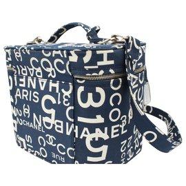 Chanel-Travel bag-Blue
