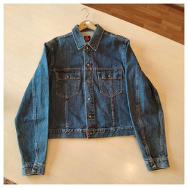 Dolce & Gabbana-Dolce Gabbana vintage denim jacket-Light blue