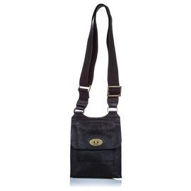 Mulberry-Mulberry Black Antony Messenger Bag-Black