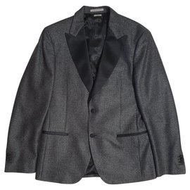 Scotch and Soda-Blazers Jackets-Grey