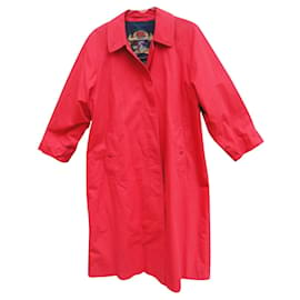Burberry-Burberry woman raincoat vintage t 38 / 40-Red
