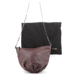 Maje-Handbag-Brown