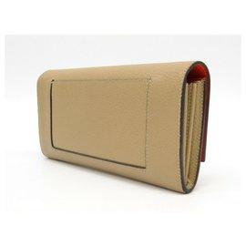 Céline-Celine wallet-Beige