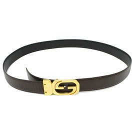 Gucci-GUCCI Belt-Brown