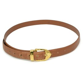 Louis Vuitton-Louis Vuitton Taiga Belt-Brown