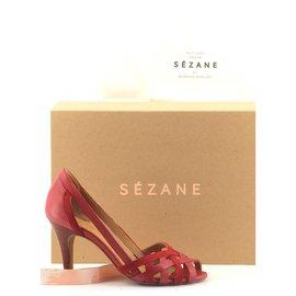 SéZane-Escarpins-Rouge