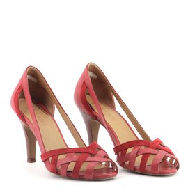 SéZane-Pumps-Red