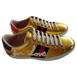Gucci-Gucci Sneakers new ace blind for love-Autre