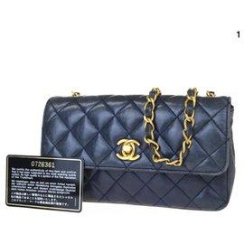 Chanel-Sacs à main-Bleu Marine