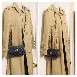Chanel-Handbags-Navy blue