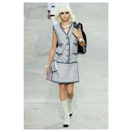 Chanel-iconic sock boots-Other