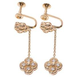 Dior-Boucles d'oreilles DIOR-Doré