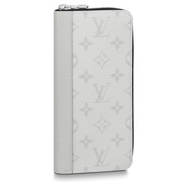 Louis Vuitton-LV Zippy vertical wallet-White