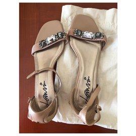 Lanvin-Des sandales-Multicolore
