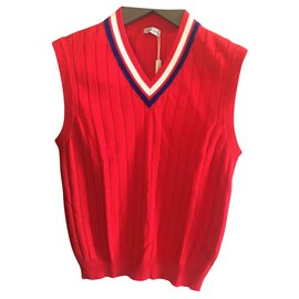 Cruciani-CRUCIANI NEW MEN'S VEST-Red