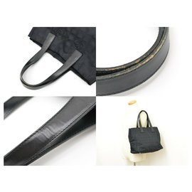 Chanel-Chanel Travel line tote bag-Black
