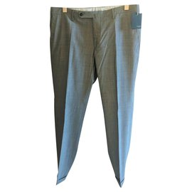 Incotex-INCOTEX HYPERSARTORIAL PANTS NEW-Grey