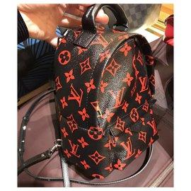 Louis Vuitton-M41457-Black,Red