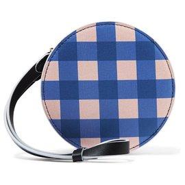 Diane Von Furstenberg-Pochettes-Multicolore,Bleu clair