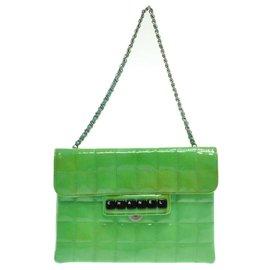 Chanel-Émail en barre de chocolat Chanel-Vert